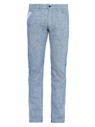 Richard Nicoll Slim Leg Cotton Denim Jeans