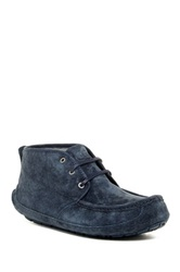 Ugg Lyle Wool Lined Moccasin Boot Blue
