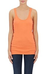Skin Women's Ribbed Cotton Tank Red