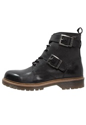 Pepe Jeans Alan Laceup Boots Black
