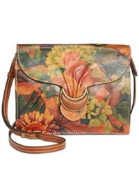Patricia Nash Van Sannio Trifold Convertible Clutch Crossbody Multi