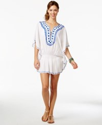 Raviya Embroidered Tunic Cover Up Women's Swimsuit