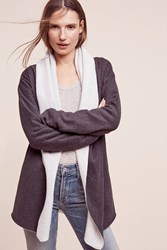 Anthropologie Fada Fleece Jacket Grey