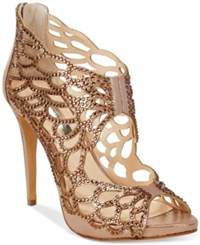 Inc International Concepts Sarane Evening Sandals Only At Macy's Women's Shoes Light Bronze