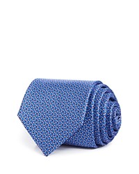 Bloomingdale's The Men's Store At Tri Flower Dot Classic Tie Purple Blue