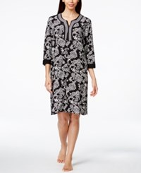 Charter Club Embroidered Paisley Print Caftan Only At Macy's