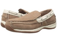 Rockport Sailing Club Tan Cream Women's Work Boots Beige