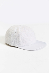 Publish Fishnet Snapback Hat White
