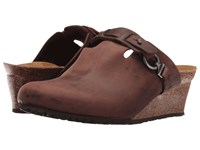 Birkenstock Dana Habana Oiled Leather Women's Dress Sandals Brown