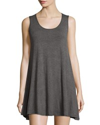 On The Road Bentley Sleeveless Scoop Neck Dress Dark Gray