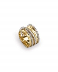 Marco Bicego Goa Seven Row Ring With Diamonds