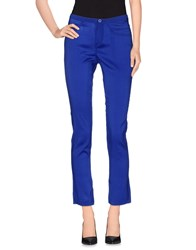 Gotha Trousers Casual Trousers Women Bright Blue