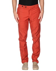 Reds Casual Pants Brick Red