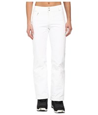 Spyder Winner Athletic Fit Pants White Women's Outerwear