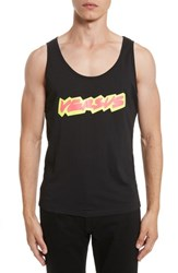 Versus By Versace 'S Logo Graphic Tank Black
