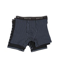 Kenneth Cole Reaction Boxer Brief Black Chevron Men's Underwear