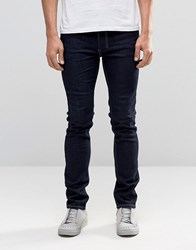 Religion Slim Fit Noize Jeans In Dark Blue Dark Blue