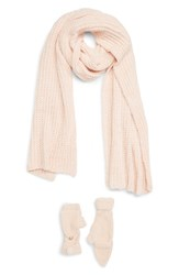 Shiraleah Philippa Scarf And Mittens Set