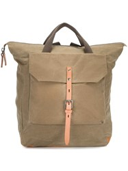 Ally Capellino 'Frances' Rucksack Green