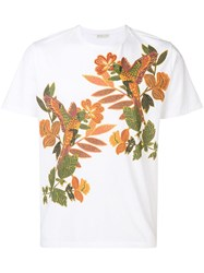 Etro Embroidered T Shirt White