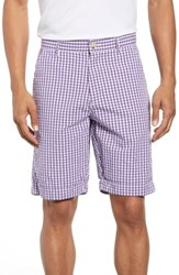 Robert Graham Melendez Classic Fit Shorts Red