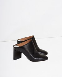 Maison Martin Margiela Brushed Effect Clogs Black