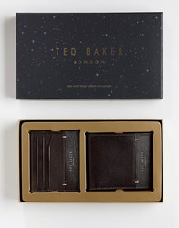 e3120fa98 Ted Baker Taglee Wallet And Card Holder Gift Set Brown