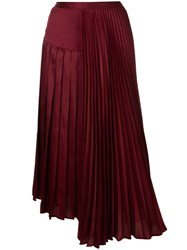 Ginger And Smart Tempera Skirt Red