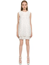 Ermanno Scervino Layered Techno Lace Dress