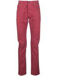 Isaia Slim Fit Chino Trousers 60