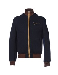 Maison Clochard Jackets Dark Blue