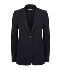 Vince Slim Double Button Blazer Female Navy