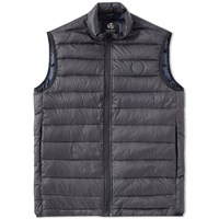 Paul Smith Logo Down Gilet Black
