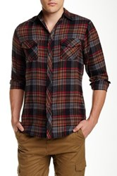 Burnside Plaid Flannel Shirt Black