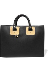 Sophie Hulme Albion Leather Tote Black