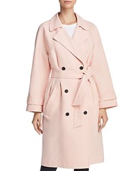 Joie Damonica Trench Coat Washed Rose