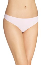 Calvin Klein Women's 'Invisibles' Thong Caldwell Pink