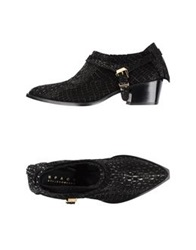Space Style Concept Moccasins Black
