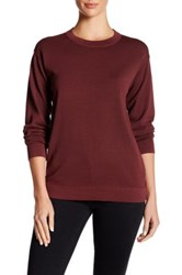 Dkny Long Sleeve Pullover Red