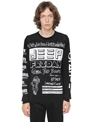 Kenzo Jacquard Cotton Knit Sweater