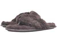 Daniel Green Charly Charcoal Women's Slippers Gray