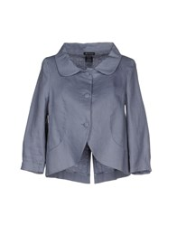 Roy Rogers Roy Roger's Suits And Jackets Blazers Women Slate Blue