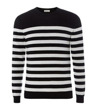 Saint Laurent Stripe Cashmere Jumper Male