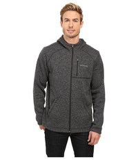 Columbia Horizon Divide Hoodie Black Heather Men's Sweatshirt