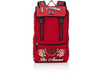 Gucci Men's Gym Backpack Red