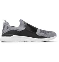 Apl Athletic Propulsion Labs Techloom Bliss Slip On Running Sneakers Gray