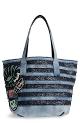 Marc Jacobs Denim Wingman Shopper