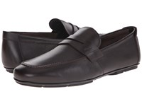 Salvatore Ferragamo Nuevo Penny Loafer Hickory Men's Slip On Dress Shoes Brown