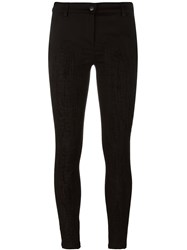 Andrea Ya'aqov Stitching Detail Trousers Black