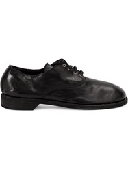 Guidi Lace Up Low Top Shoes Black